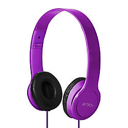 BYTECH On Ear Headphones Purple BYAUOH137PU