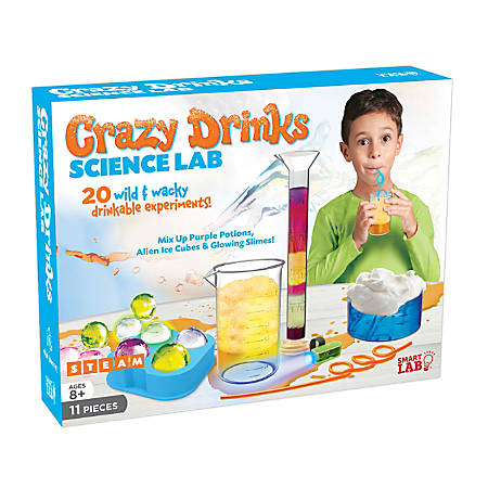 SmartLab QPG Lab For Kids, Crazy Drinks Science Lab, Grade 3 - 8