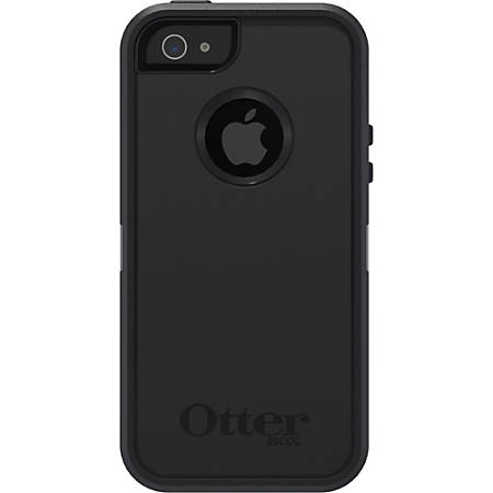 OtterBox® Defender Series Case For Apple® iPhone® 5, Black
