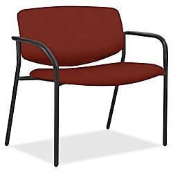Lorell Bariatric Fabric Guest Chair Orange