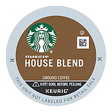 Starbucks House Blend Coffee K Cup