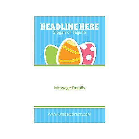 Custom Banner, Vertical, 3 Easter Egg