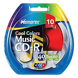 Memorex Music CD R Recordable Media