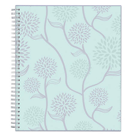 """Blue Sky™ Monthly Planner, 10"""" x 8"""", Rue Du Flore, January to December 2019"""