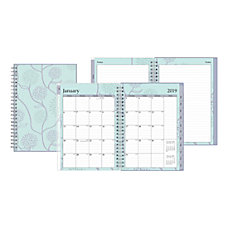 Blue Sky WeeklyMonthly Planner Extra Notes