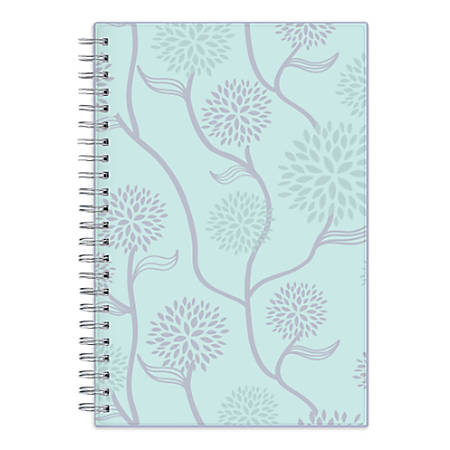 """Blue Sky™ Weekly/Monthly Planner, 8"""" x 5"""", Rue Du Flore, January to December 2019"""