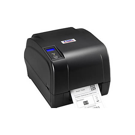 TSC Auto ID TA200 Direct Thermal/Thermal Transfer Printer - Monochrome - Desktop - Label Print