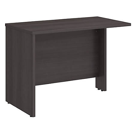 "Bush Business Furniture Studio C 42""W Desk Return, Storm Gray, Standard Delivery"