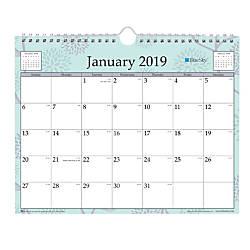 Blue Sky Monthly Wall Calendar 11