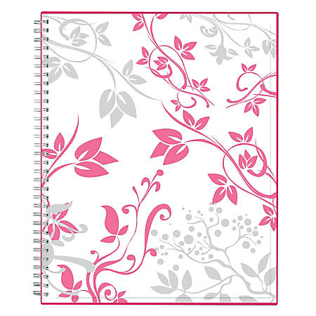 "Blue Sky™ Breast Cancer Awareness CYO Planner, Weekly/Monthly, 8 1/2"" x 11"", Alexandra, January to December 2019"