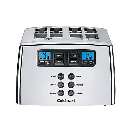 Cuisinart® Touch To Toast™ Leverless 4-Slice Toaster, Silver