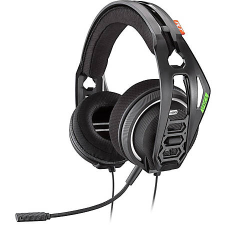 Plantronics RIG 400HX Stereo Gaming Headset for Xbox One - Stereo - Mini-phone - Wired - 32 Ohm - 20 Hz - 20 kHz - Over-the-head - Binaural - Circumaural - Noise Canceling