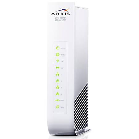 ARRIS® SURFboard® SBR-AC1750 WiFi Router, White