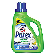 Purex Ultra Natural Elements HE Liquid