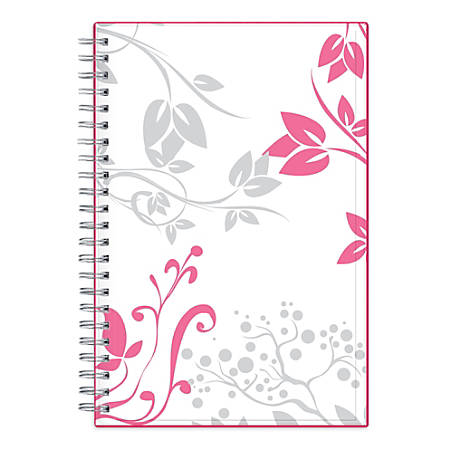 """Blue Sky™ Breast Cancer Awareness CYO Planner, Weekly/Monthly, 5"""" x 8"""", Alexandra, January to December 2019"""