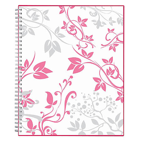 """Blue Sky™ Breast Cancer Awareness Weekly/Monthly Planner, 8 1/2"""" x 11"""", Alexandra, January to December 2019"""