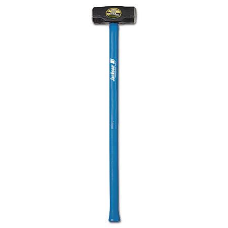 Jackson Double Faced Sledge Hammers, 12 lb, Fiberglass Handle
