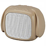 "iLive Bluetooth® Dog Wireless Speaker, 3.15""H x 2.05""W x 2.64""D, Brown, ISB19DOG"