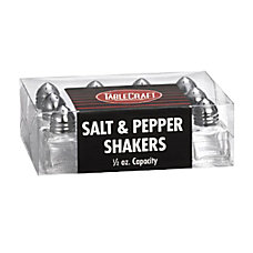 Tablecraft Cube Salt And Pepper Shakers