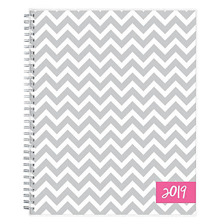 """Blue Sky™ Dabney Lee Weekly/Monthly Planner, 11"""" x 8 1/2"""", Ollie, January to December 2019"""