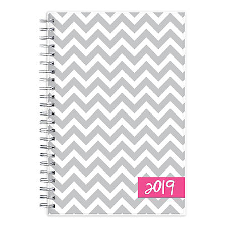 "Blue Sky™ Dabney Lee Weekly/Monthly Planner, 8"" x 5"", Ollie, January to December 2019"