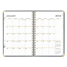 Blue Sky Hardcover Planner WeeklyMonthly 5