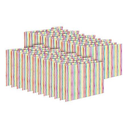 Barker Creek Tab File Folders, Letter Size, Stripes, Pack Of 24 Folders