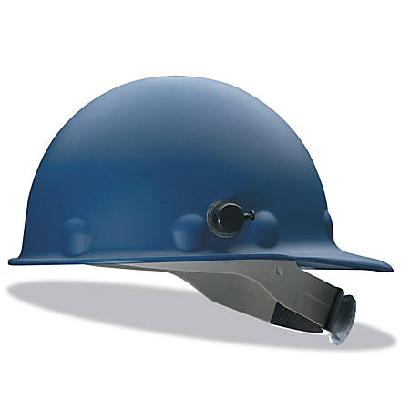 Honeywell Fibre-Metal® Roughneck P2 High-Heat Protective Cap, SuperEight Ratchet With Quick-Lok, Blue