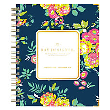 Blue Sky Day Designer Hardcover WeeklyMonthly