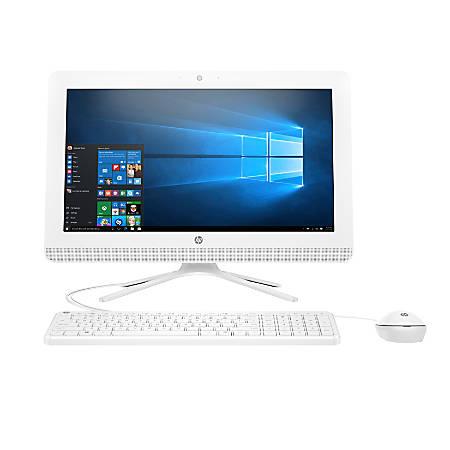 "HP All-in-One PC, 24"" Screen, AMD A8, 4GB Memory, 1TB Hard Drive, Windows® 10, 24-g010"
