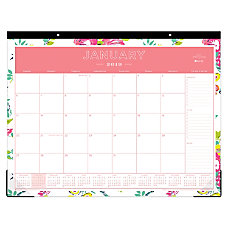 Blue Sky Day Designer Monthly Desk