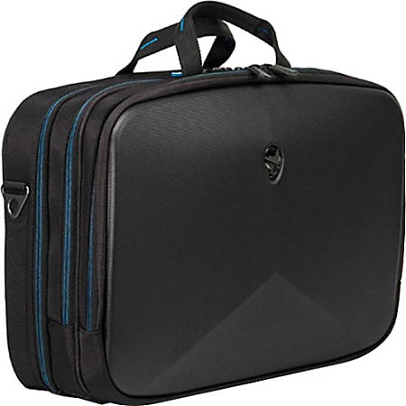 "Mobile Edge Alienware Vindicator Carrying Case (Briefcase) for 15"" Notebook - Black, Teal"