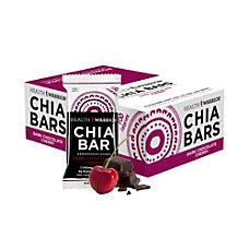 Health Warrior Chia Bars Dark Chocolate