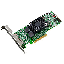 Thecus 10Gigabit Ethernet Card - PCI Express 2.0 x8 - 2 Port(s) - 2 - Twisted Pair
