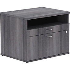 Lorell Relevance Series Charcoal Laminate Office