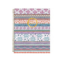 """Blue Sky™ Weekly/Monthly Planner, 11"""" x 8 1/2"""", Aziza, January to December 2019"""
