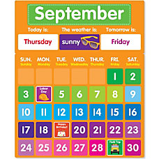 Color Your Classroom Calendar Bulletin Board
