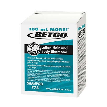 Betco® Lotion Hair And Body Shampoo Refills, Fresh Scent, 30.4 Oz, Pack Of 12 Bottles