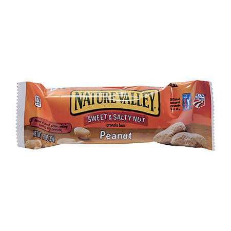 Nature Valley® Granola Bars, Sweet & Salty Peanut Butter, 1.5 Oz, Box Of 16