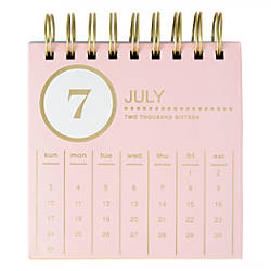 Divoga Monthly Easel Desk Calendar 5