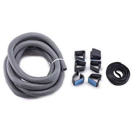 Bush Business Furniture Cable Management Kit, Gray, Standard Delivery