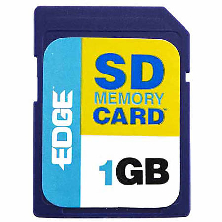 EDGE Tech 1GB Digital Media Secure Digital Card