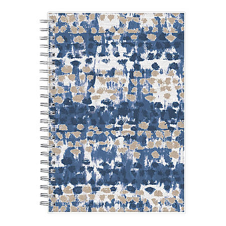 """Blue Sky™ Ariana Weekly/Monthly Frosted Planner, 5"""" x 8"""", Multicolor, January To December 2020, 116063"""