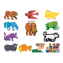 Little Folk Visuals Eric Carle Brown