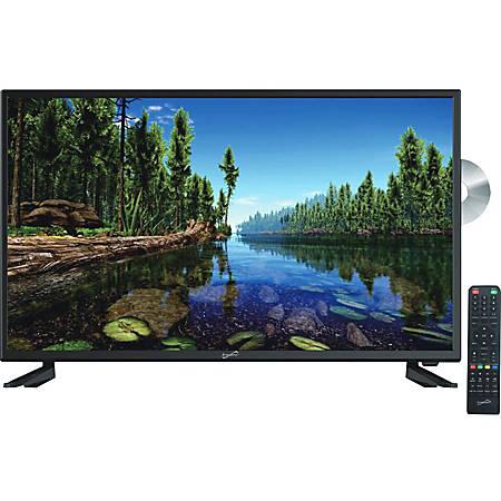 "Supersonic SC-3222 32"" TV/DVD Combo - HDTV - 16:9 - 1366 x 768 - 720p - Direct LED - ATSC - NTSC - 178° / 178° - 3 x HDMI - USB"