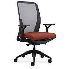 Lorell Executive Mesh BackFabric Seat Task