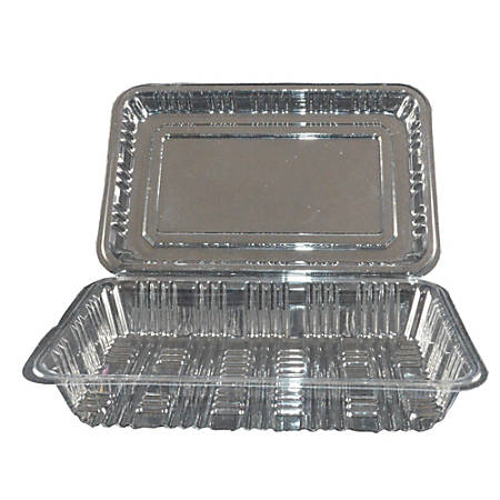 Hawaii's Finest Products Food Service Containers, Medium, Clear, Pack Of 500 Containers