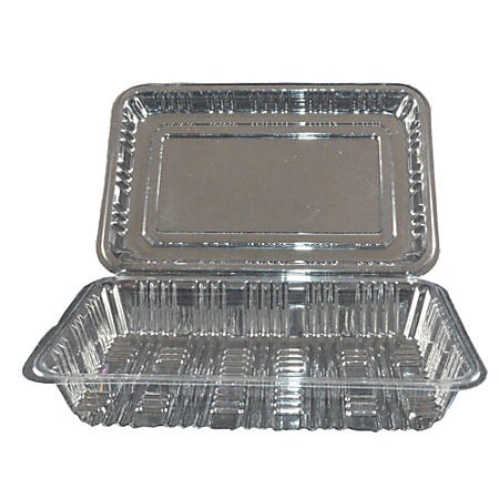 Hawaii's Finest Products Food Storage Containers, Clear, Pack Of 100 Containers
