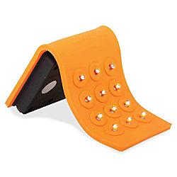 Baumgartens® BAU42650 Silicone 12-LED AAA Flashlight, Orange/Black