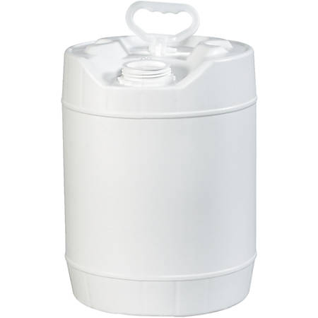 Office Depot® Brand Plastic Pail Shipper, Closed Head, 5 Gallon, White
